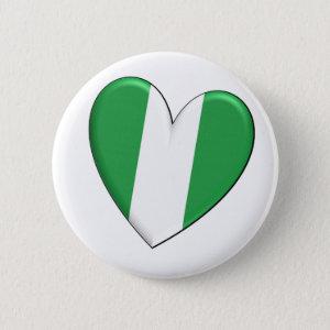 Nigeria Heart Flag Button