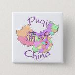 Puqi China Pinback Button