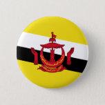 Brunei – Bruneian Flag Pinback Button