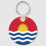 Low Cost! Kiribati Flag Keychain