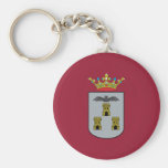 Albacete, Spain flag Keychain