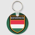 Hungary Flag Keychain