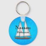 Nassau Bahamas Keychain