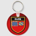 Dijon Flag Keychain