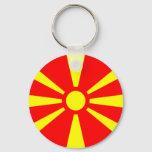 Flag of Macedonia Keychain