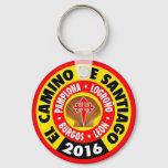El Camino de Santiago 2016 Keychain
