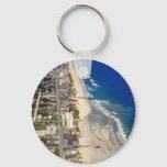 Kure Beach North Carolina Keychain