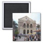FR-France-French Riviera-Toulon-Opera Magnet