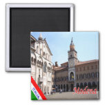 IT - Italy - Modena - Town Hall And Cathedral Magnet