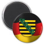 Sachsen coat of arms magnet