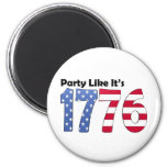 Party Like It's 1776 Flag Magnet