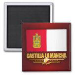 Castilla-La Mancha Flag Magnet