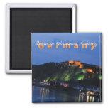 Koblenz Germany Nighttime Souvenir Fridge Magnet