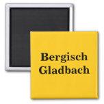 Bergisch Gladbach magnet sign gold Gleb