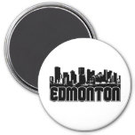 Edmonton Skyline Magnet