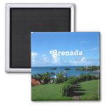 Grenada Landscape Magnet