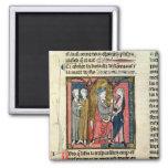Charlemagne sending Ganelon Magnet