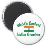 Coolest Indian Grandma Magnet