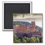 Famous castle ruins, Heidelberg, Germany Magnet