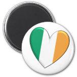 Ireland Heart Flag Magnet