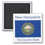 New Hampshire Flag Magnet