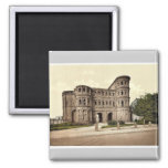 Trier (Treves), Porta Nigra (Black Gate), Moselle, Magnet