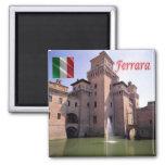 IT - Italy - Ferrara - Castle Exterior View Magnet