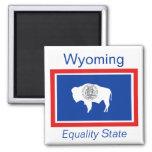 Wyoming Flag Magnet