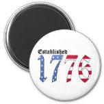 Established 1776 Magnet