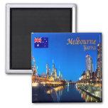 AU - Australia - Melbourne - Yarra Twilight Magnet