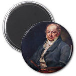 Portrait Of Francisco De Goya By Vicente Lã³Pez Magnet