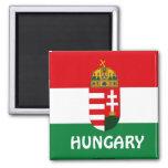 Hungary flag magnet