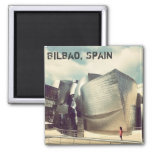Bilbao Spain Fridge Magnet
