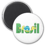 Brasil Flag T-shirt Magnet