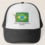 BRAZIL PORTO ALEGRE SOUTH MISSION LDS TRUCKER HAT