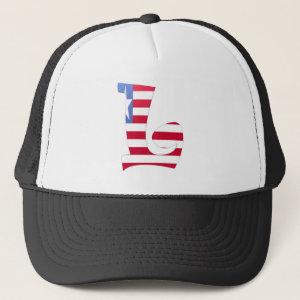 L (Liberia) Hat