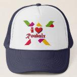 I love Roubaix Trucker Hat