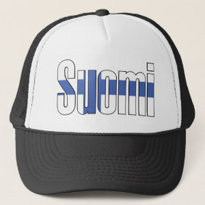 Suomi (Finland) Flag T-shirt Hat