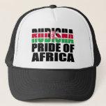 Rudisha Pride of Africa Kenyan Flag Trucker Hats