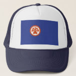 Suita city flag Osaka prefecture japan symbol Trucker Hat