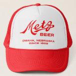 Vintage Metz Beer Hat