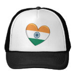 India Heart Flag Hat