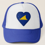 Tokelau flag trucker hat