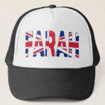 Farah British Flag Trucker Hats