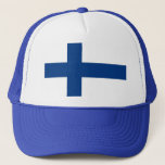 Hat with Flag of Finland