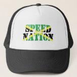 Speed Nation Jamaican Flag Hat