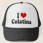 I Love Colatina, Brazil Trucker Hat
