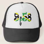 Bolt 9.58 WR Jamaican Flag Hat