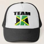 Team Ja Jamaican Flag Mesh Hat