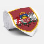 Latvia Flag Personalized Tie